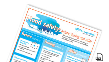 Sign up to download - Flood safety: before, during and after